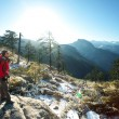 Hike in Yosemite - Foto Stock