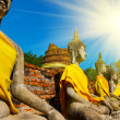 Stock Photo: Buddhas statue
