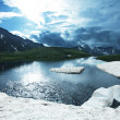Stock Photo: High mountains lake