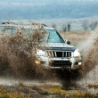 Stock Photo: Jeep off road