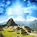 Machu-Picchu — Stock Photo