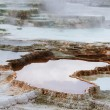 Stock Photo: Mammoth hot spring in Yellowstone