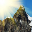 mountain peak — Stock Photo