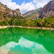 Mountains summer lake — Stock Photo