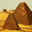 Pyramids in Sudan — Stock Photo #6567219