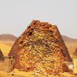 Pyramids in the Sudan — Stock Photo