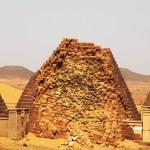 Pyramids in the Sudan — Stock Photo