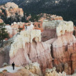 Stock Photo: Scene in Bryce canyon
