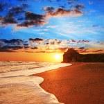 海上日落 — 图库照片 #6567591