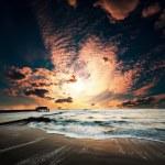 Deniz günbatımı — Stok fotoğraf #6567641