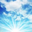 Clouds and blue sky — Stock Photo #6567911