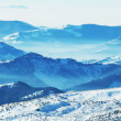 Stock Photo: Winters mountains