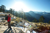Hike in Yosemite — Stock Photo
