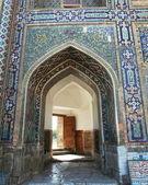 Arch i samarkand palace — Stockfoto