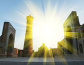 Bukhara palace — Stock Photo