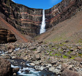 Hengifoss — Stock Photo