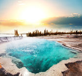Hot springs — Stock Photo
