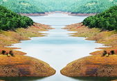 Lago — Foto Stock