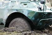 Military transport — Stock Photo