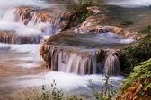 Small waterfall — Стоковое фото