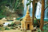 Waterfall in Myanmar — Stock Photo