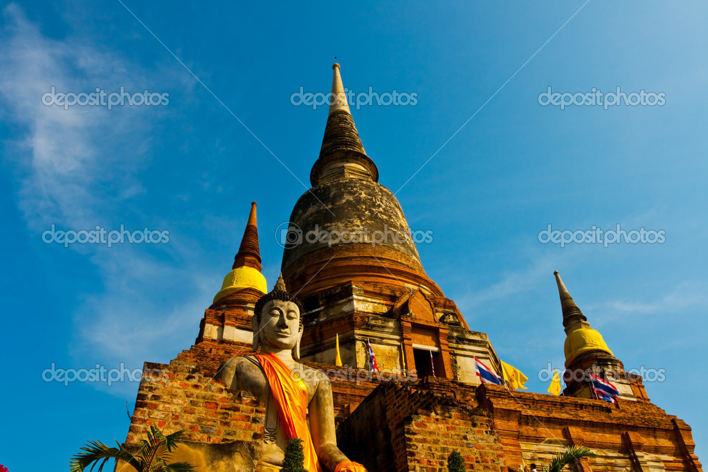 Temple in Thailand — Stock Photo #6562905