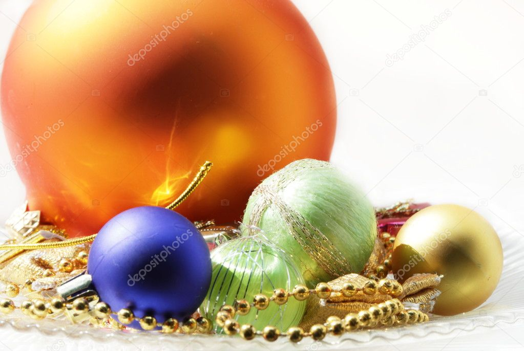 Christmas balls — Stock Photo #6563268