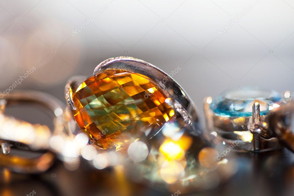 Jewels collage — Stock Photo #6565308