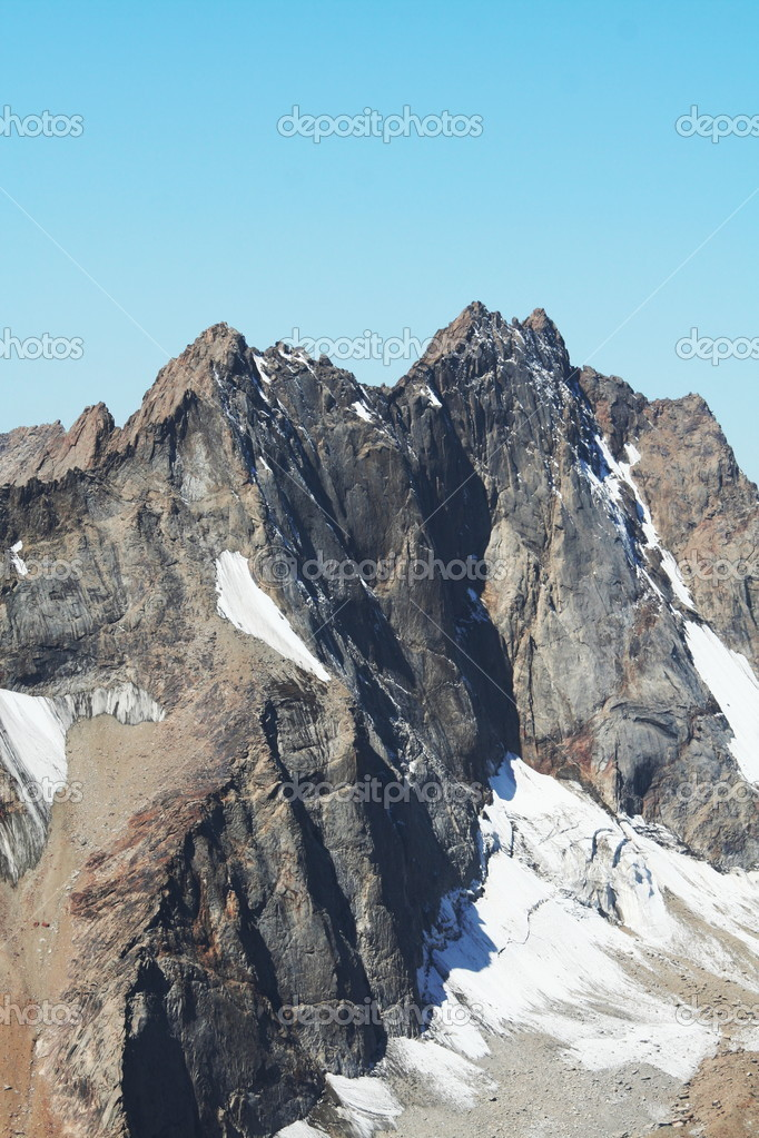 Mountain peak — Stock Photo #6566555