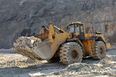 Wheel loader maskin — Stockfoto