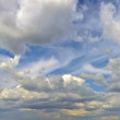 Full Cloud on the sky - Stock Photo