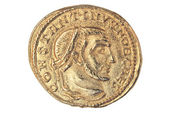 Ancient Gold Coin — Stockfoto
