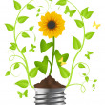 Ecology consept — Stock Vector