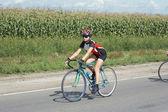 велосипедист — Стоковое фото