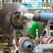 Stock Photo: Power generator steam turbine during repair