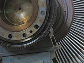 Power generator steam turbine during repair — Stock Photo