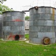 Old industrial rusty tanks for chemicals — Stock Photo #6460328
