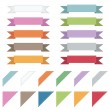 Corners and ribbons — Stock Vector #5439922