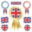 Uk flags — Stock Vector #5608480
