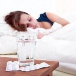 Bedside pills — Stock Photo