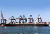 Container ship — Fotografia Stock