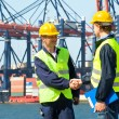 Stock Photo: Two Dockers
