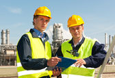 Two engineers — Stock Photo