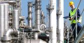 Petrochemický průmysl — Stock fotografie