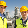 Stockfoto: Petrochemical engineers