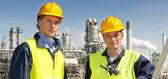 Ingenieros petroquímicos — Foto de Stock