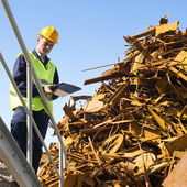 Recycling specialist — Stock Photo