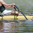 Rowing stroke - Stock Photo