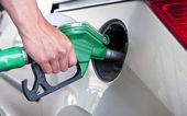 Reabastecimento de combustível — Foto Stock