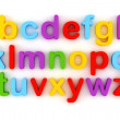 3d colorful letter, on white background — Stock Photo